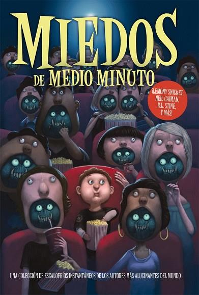MIEDOS DE MEDIO MINUTO | 9788492939558 | GAIMAN, NEIL/R.L. STINE/SNICKET, LEMONY/SELZNICK, BRIAN/CONNELLY, MICHAEL/PATTERSON, JAMES/ATWOOD, M | Cooperativa Cultural Rocaguinarda