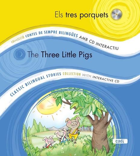 ELS TRES PORQUETS / THE THREE LITTLE PIGS | 9788447440788 | EQUIPO EVEREST | Cooperativa Cultural Rocaguinarda